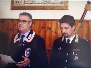 Cap. Andrea Cinus Com. Compagnia CC Caserta