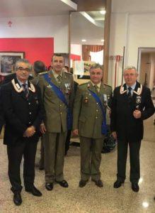 Com. Alessandro Pantaleo e Col. Tiziano Fabi