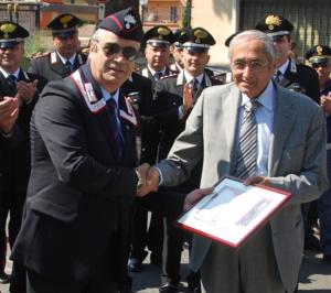 Luigi de Ficchy Procuratore Capo della Repubblica a Perugia, Socio Benemerito ANC Tivoli