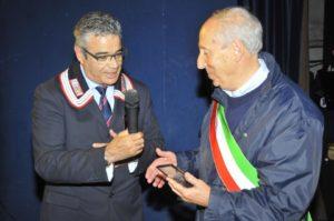 Con il SIndaco di Tivoli Prof Giuseppe Proietti