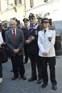 con il Comandante Polizia Locale Eleonora Giusti e Bruno Ferraro ex Presidente del Tribunale di Tivoli
