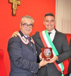 Con il Sindaco di Trasacco (AQ) Dottor Mario Quaglieri
